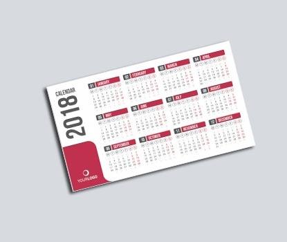 impresion para Calendario de Bolsillo